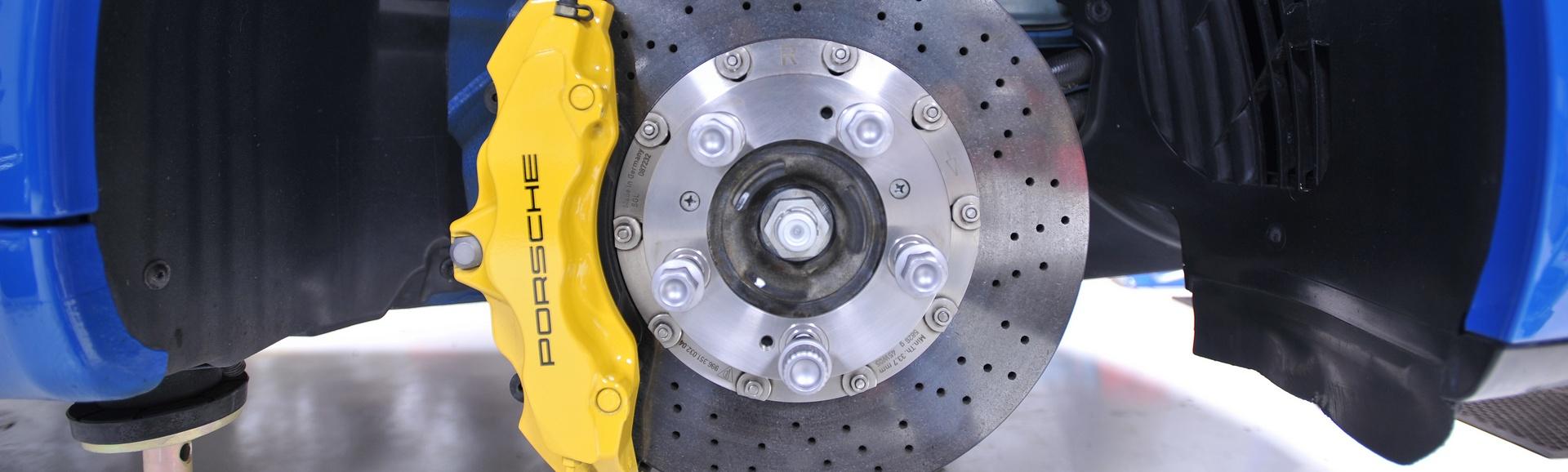 Замена тормозных дисков в Ювао